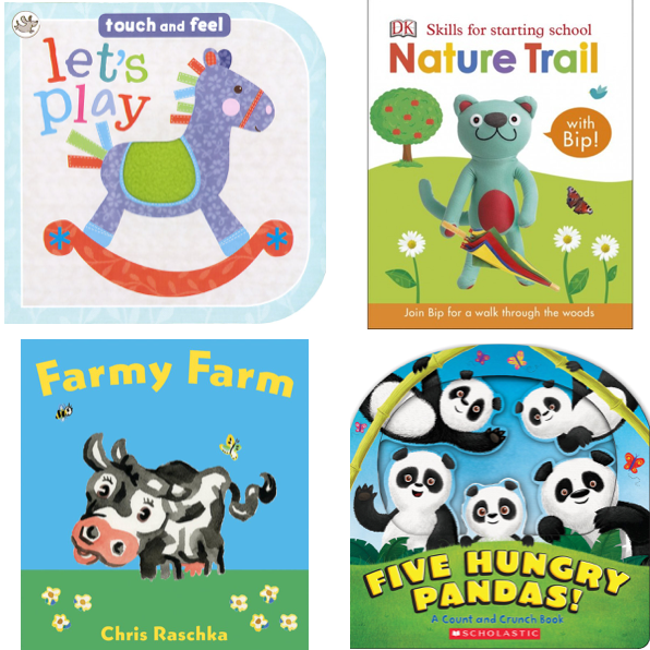 Baby Party Favor Books