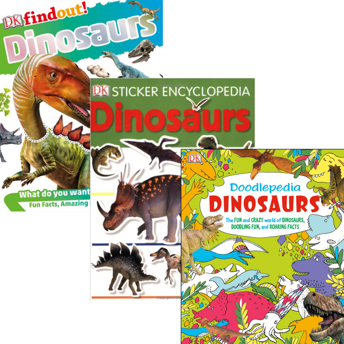 Dinosaur Party Favor Books
