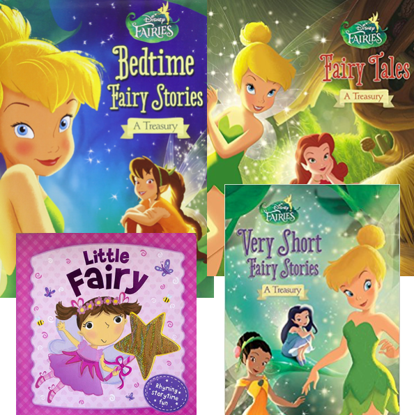 Fairy Party Favor Books
