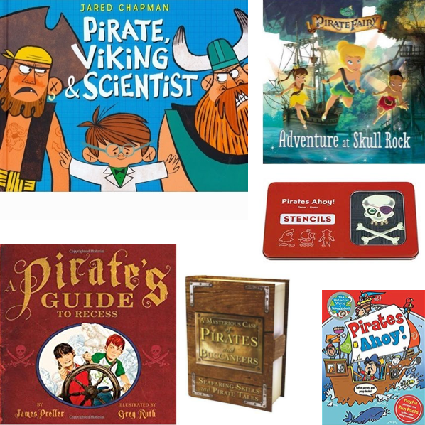 Pirate Party Favor Books