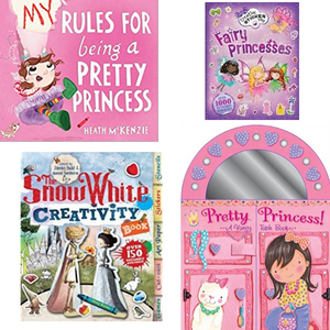 Princess Party Favor Books