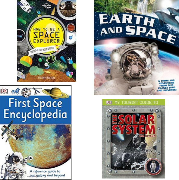 Space Party Favor Books
