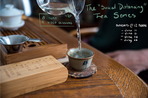 A Social Distancing Tea Series