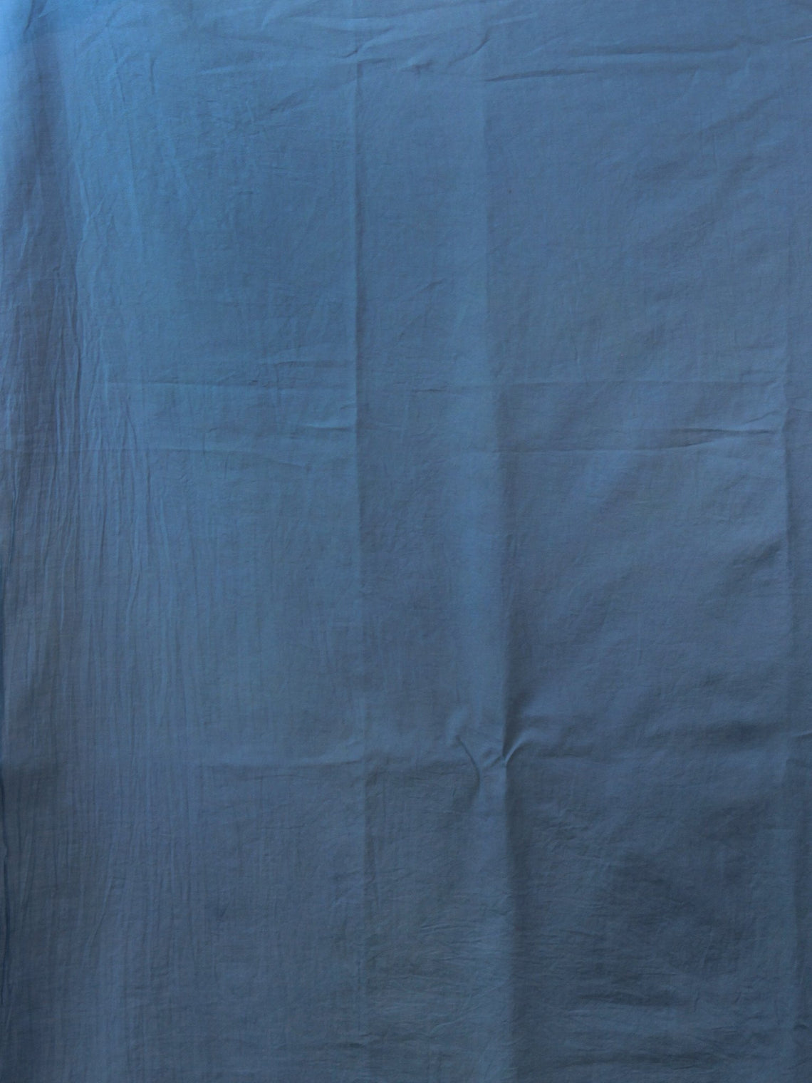 Peanut Brown Teal Blue Ivory Hand Shibori Dyed Cotton Saree - S031702020