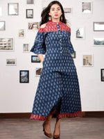 IKAT MANIA - Handwoven Ikat Midi Dress - D325F940