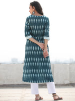Tagai Samah- Set of Ikat Kurta & Pants  - KS126A2418