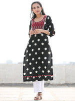 Tagai Soojan- Set of Ikat Kurta & Pants  - KS60H851