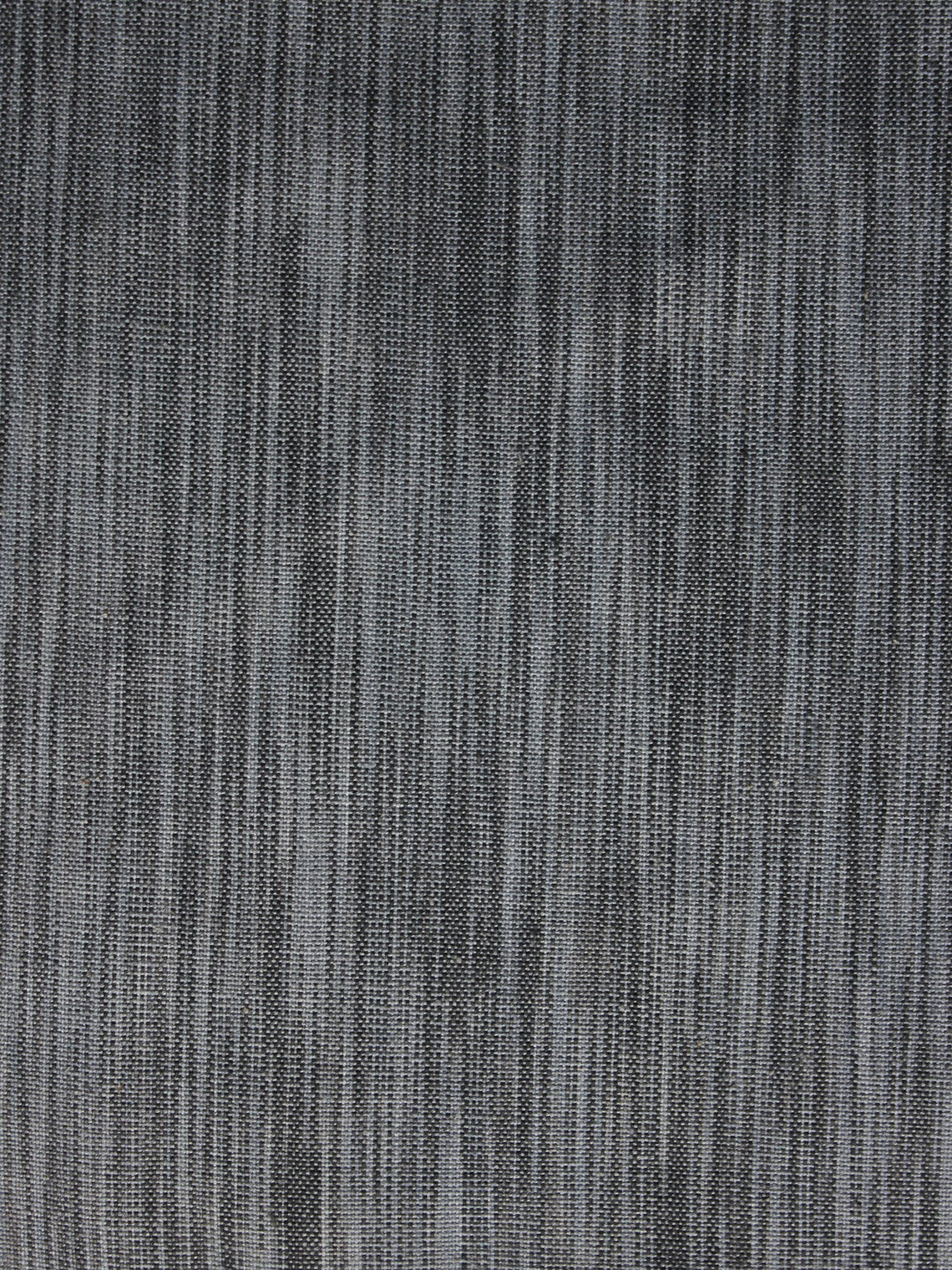 Shaded Grey Pochampally Hand Weaved Ikat Fabric Per Meter - F003F1245