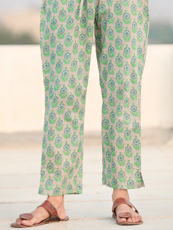 Rozana Gulbar - Cotton Pants - KP138B2481
