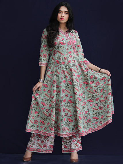 Rozana Pakiza Kurta Palazzo Set - KS13AS2187
