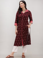 Tagai  Syra - Set of Ikat Kurta & Pants  - KS122A2426