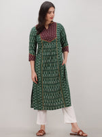 Tagai Rastifa - Set of Ikat Kurta & Pants  - KS121A2431