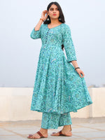 Raas Narmin - Set of Flared Kurta & Palazzo  - KS101D2297