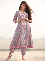Jashn Simra - Set of Kurta Pants & Dupatta - KS80AXXXD