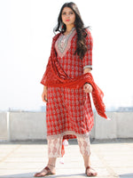 Bahaar Naija - Set of Kurta Pants & Dupatta - KS107A1691D