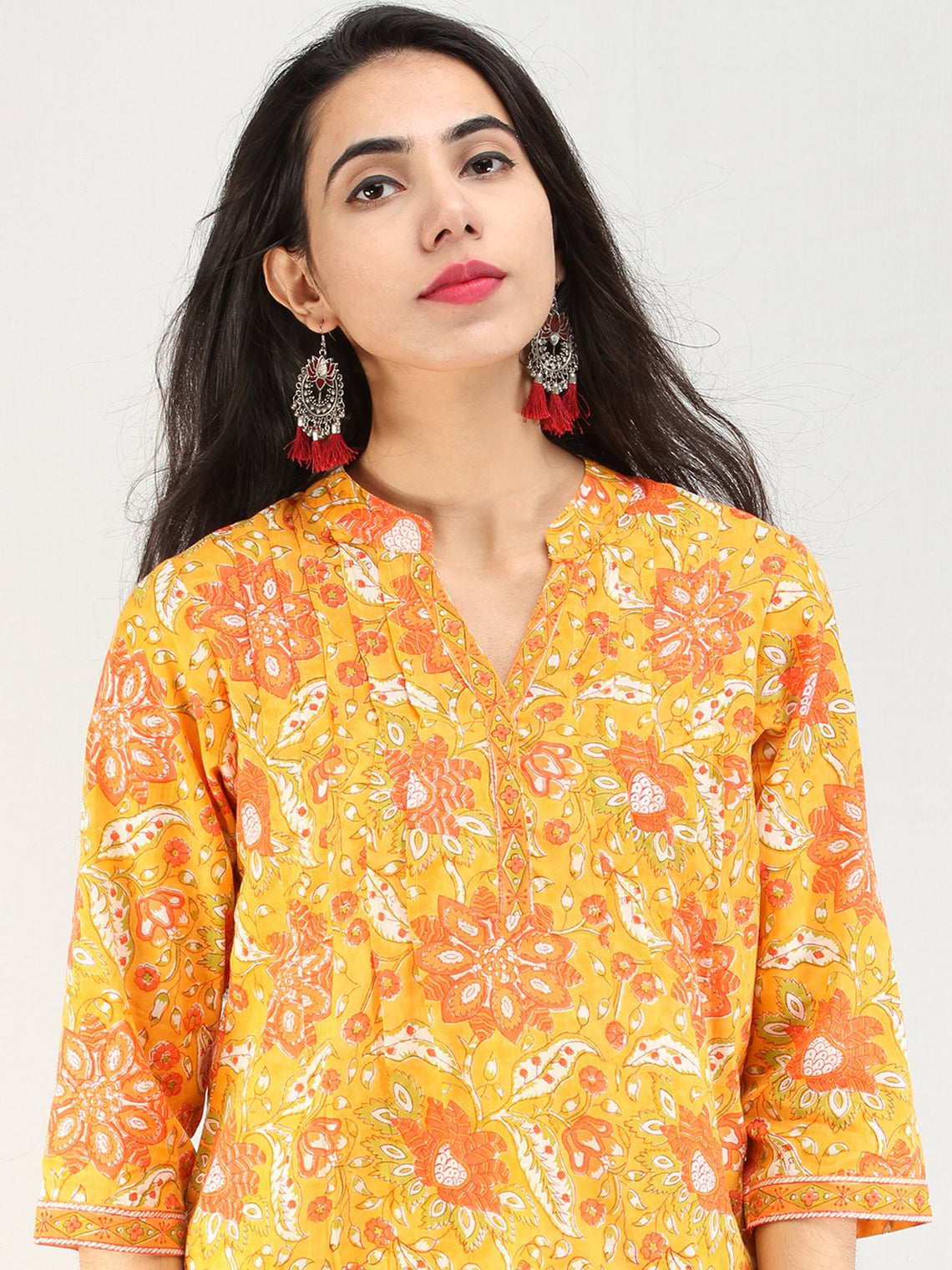 Rangrez Gul-Andaz - Cotton Top - T73F2224