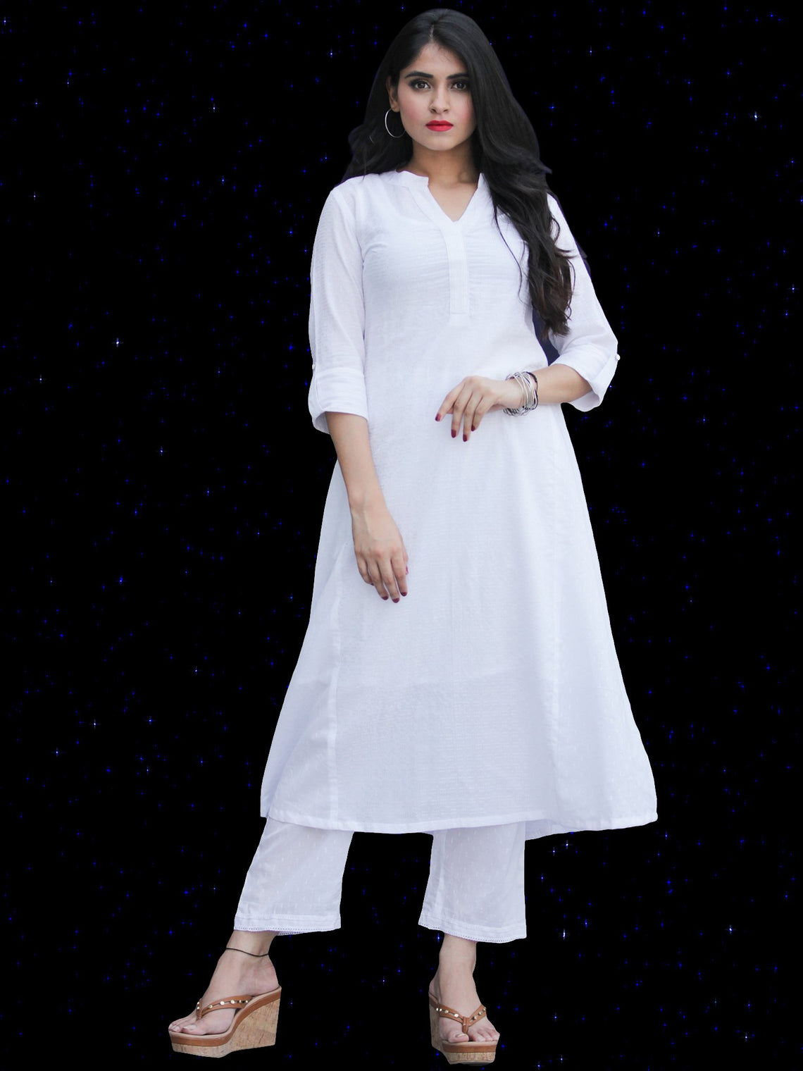 Chandni Fadia - Cotton Kurta - KS39KFP04