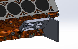 LSA Billet Side Motor Plates