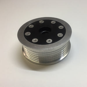 RevOlution Series Billet 70MM 6-Rib Tensioner / Idler Pulley