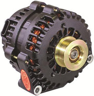 Powermaster High-Amp Alternator - 220AMP - 4 Pin Black Powder Coated