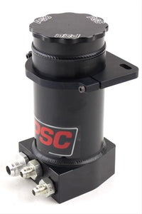"PSC 8.25"" Pro Touring P.S. Remote Reservoir w/ Filter For Hydro Boost Brakes Black Anodized"