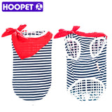 HOOPET NEW Dog Vest Sailor's Striped Shirt