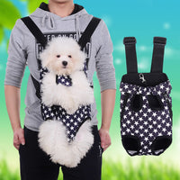 New Big Promotion Dog Bag Comfortable Pets Five Stars Bags Carrier In Front Of Chest
