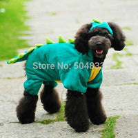Dino Design Puppy Dogs Festival Jumpsuit,  Green , Red & Yellow,  XS-XXL