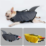 Thick Foam Shark or Duck Pet Life Jacket Vest