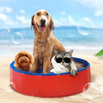 Pets PVC Bathing Bathtub Washer Swimming Pool Cats/Dogs