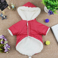 Winter Cat Clothing Hoodie Warm Christmas Costume