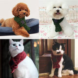 Warm Dog Scarves Small Pets