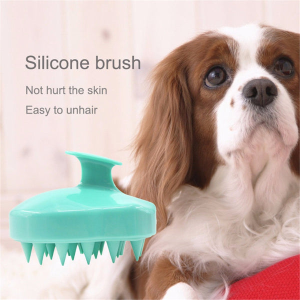 Soft Cat/Dog Silicone Massage Bath Brush