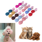 Dog/Cat Hair Grooming Accessories 10 Colorful Pcs