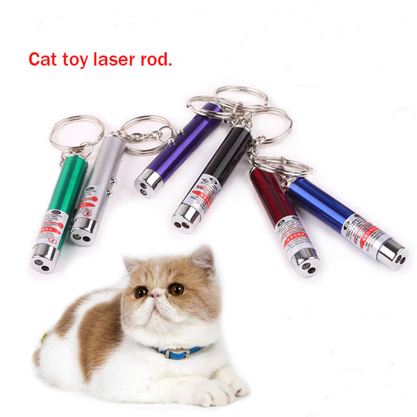 Pet toy cat dog interaction Laser tease cats