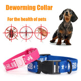 Deworming Collar Adjustable Collar Natural Spice  Excellent Insect Repellent Effect Non-toxic