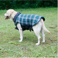Popular Plaid Jacket Winter Puppy Coat Shirt Pet Clothes Elastic