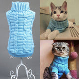 New Retro Pet Knitted Sweater Winter Autumn Warm Wool