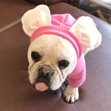 Big Ear Cute Dog Hoodie For Dogs Pets Clothing