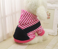 Pet Small to Large Hoodie Dog Coat Jacket - Two Colors
