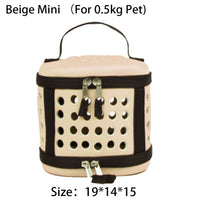 Foldable/Portable Pet Carrier Dog Outdoor Handbag Breathable