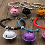 Hot Cute Dog Pet Glossy Reflective Collar Safety Buckle Bell