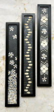 THE SKINNY set of 3 black and white collection with black frame