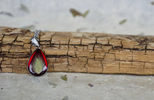 Real Pressed Bunnytail Botanical Pendant Necklace by Pressed Wishes