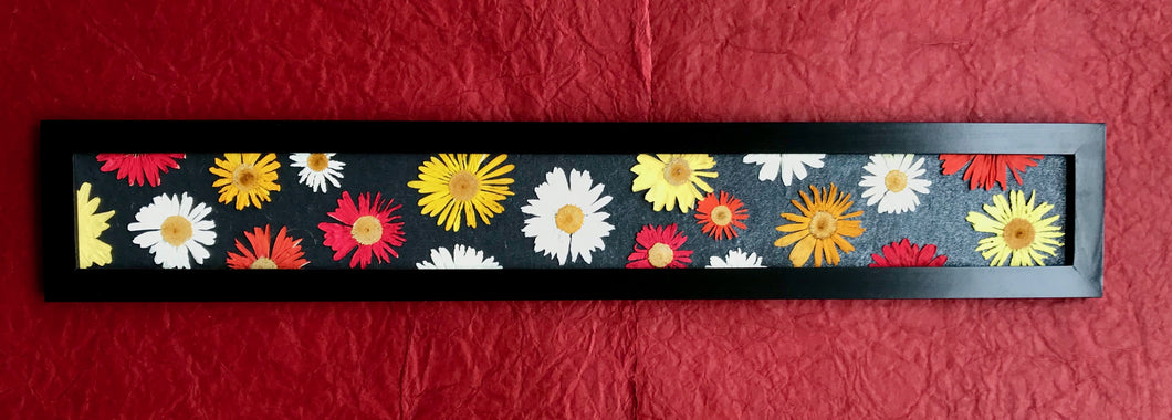 THE SKINNY Crazy Daisy with black frame; colour pop
