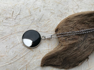 Raven Feather Pendant 'Intelligence'