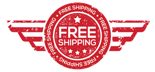 banner saying free shipping on all products to the lower 48 states