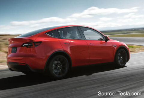 Tesla Model Y (Source: Tesla.com)