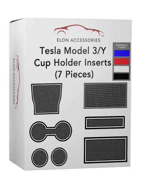 Tesla Model 3/Y 7 Piece Cup Holder Insert