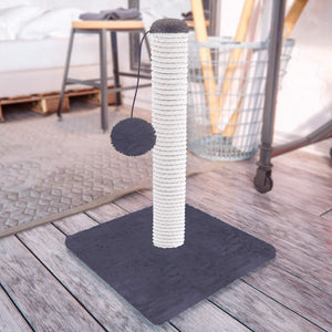 "Cat Scratching Post 14.5"", Grey"